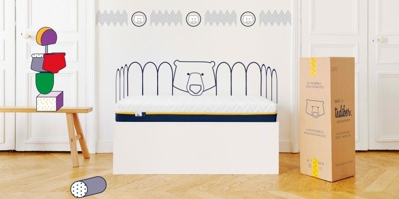 tediber lancia tedi l incredibile mini materasso per. Black Bedroom Furniture Sets. Home Design Ideas